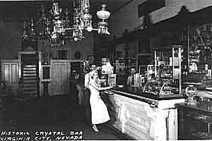 The old Crystal Bar at C and Taylor Streets is now the Visitor Center, and a good place to visit early for bargain packages and up to date information.