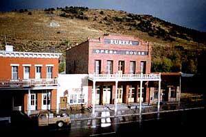 Eureka Opera House, Eureka Nevada