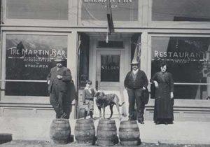 The original Martin Hotel on Railroad Street, Winnemucca Nevada