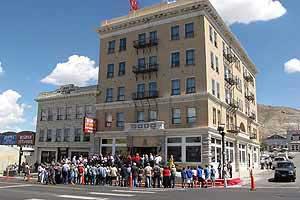2011 Grand opening Mizpah Hotel, Tonopah Nevada