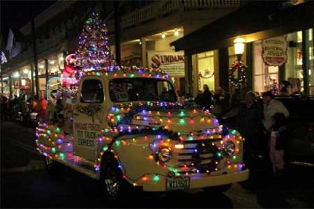 Parade of Lights, Virginia City Nevada