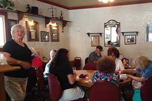 Ladies Pinochle Club at the Martin Hotel, Winnemucca Nevada