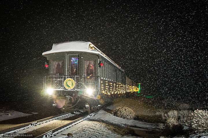 Polar Express, V&T Railroad, Virginia City Nevada
