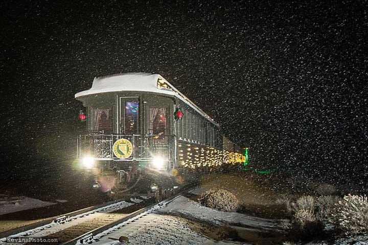 Polar Express, V&T Railroad, Virginia City Nevada