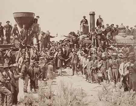 Promontory Point celebration May 10, 1869