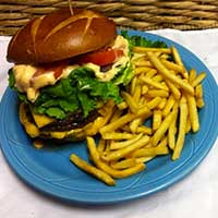 Bigburger at Rack's, Ely Nevada