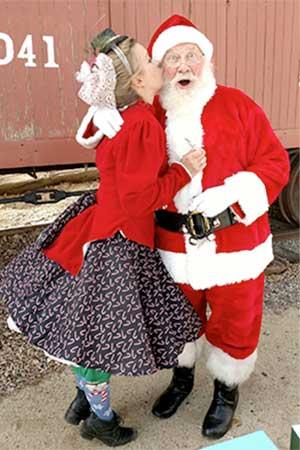 Santa says All Aboard