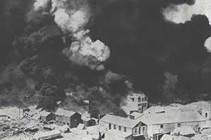 1909 fire, Rawhide Nevada