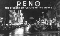 The Reno Arch, a historic view