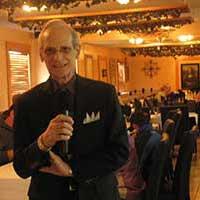 Richie Ballerini sings at Pietro's Familglia Ristorante in Sparks Nevada