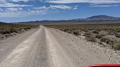 Back road to Tonopah