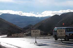 The end of the road in Gold Canyon, Gold Hill Nevada