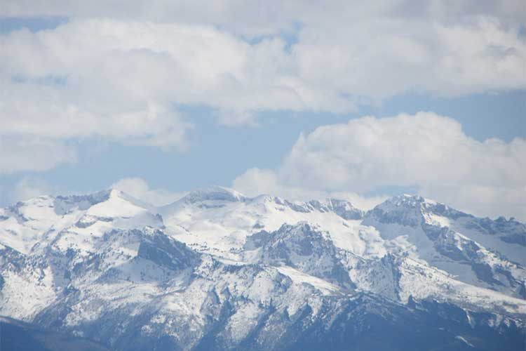 Ruby Mountain summits near Elko