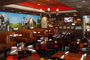 Saltgrass Steakhouse in he Golden Nugget Casino, Laughlin Nevada