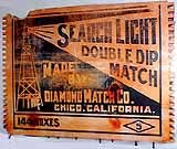 Searchlight brand Double Dip matches.