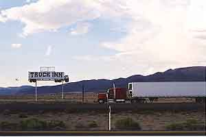 Semi on a stick, Fernley Nevada