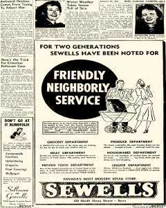 Sewell's ad