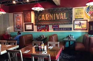 Sharkey's dining room, Gardnerville Nevada