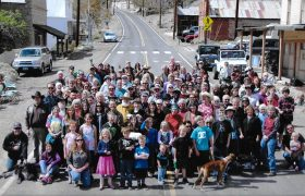 Silver City residents and friends