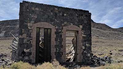Ruin at Silver Peak Nevada