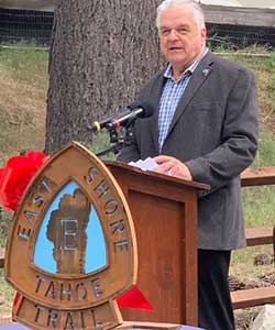 Governor Sisolak at the