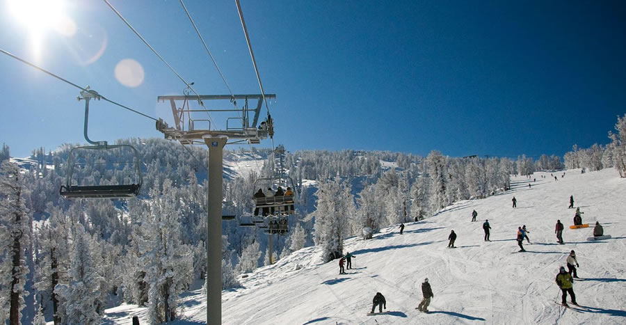 Ski Heavenly in the Lake Tahoe Basin