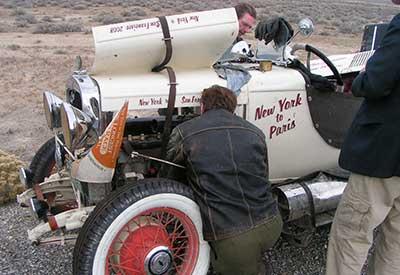 Speedster repairs, Great Race Redux