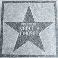 Lyndon Johnson star, Hotel Nevada and Gambling Hall, Ely Nevada