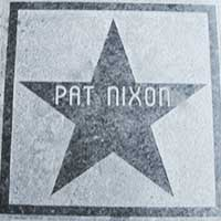Pat Nixon star, Hotel Nevada, Ely Nevada
