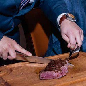 carving steak