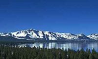 Lake Tahoe, early spring