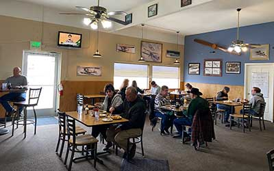 The Taildragger Cafe, Carsin Valley Airport