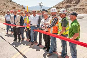 Highway 342 reopens in Gold Hill Nevada