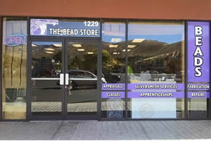 The Bead Store at its new location