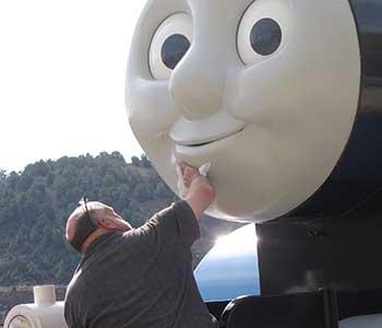 Thomas the Tank Engine at Virginia City Nevada