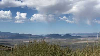 Toiyabe mountain view