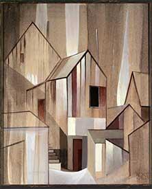 Tonopah Houses by Robert Cole Caples