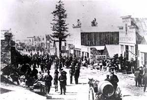 Treasure City Nevada, 1869