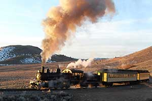 The Virginia & Truckee Railroad, Virginia City Nevada