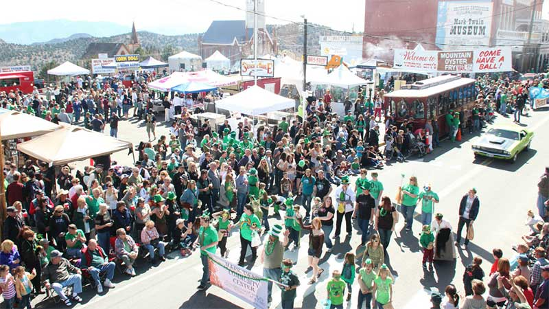 St. Patrick's Day in Virginia City