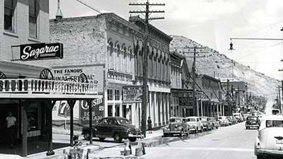 Virginia City in the 1930s