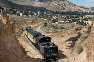 ride on the V &T Vintage Motorcar