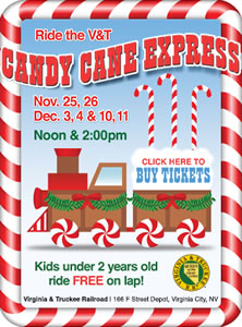 V&T Candy Cane Express