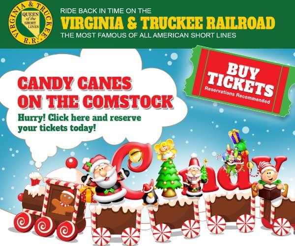 Christmas on th V&T Virginia City