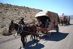 21st Century Wagon Train, Tonopah-bound