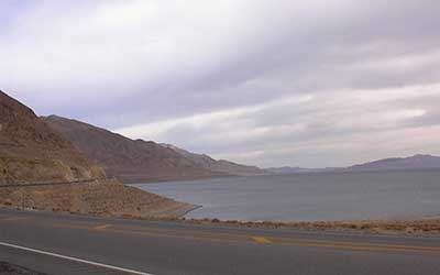 Walker Lake, near Hawthorne Nevada
