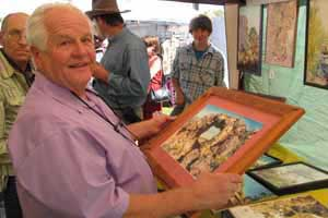 "Wally Cuchine of Eureka at Ely's ""Art in the Park"""