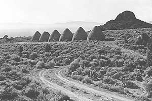 Ward Charcoal Ovens State Park, White Pine County Nevada