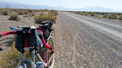 Kurstin Graham rides Water Boy into Buena Vista Valley