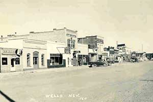 Old downtown, Wells Nevada